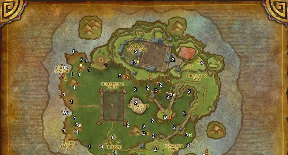 永恒岛箱子 WOW永恒岛宝箱地图位置