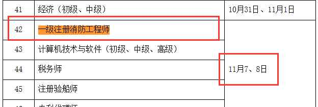 2020年重庆消防工程师考试时间 报名条件 2020年重庆消防工程师考试时间报名条件